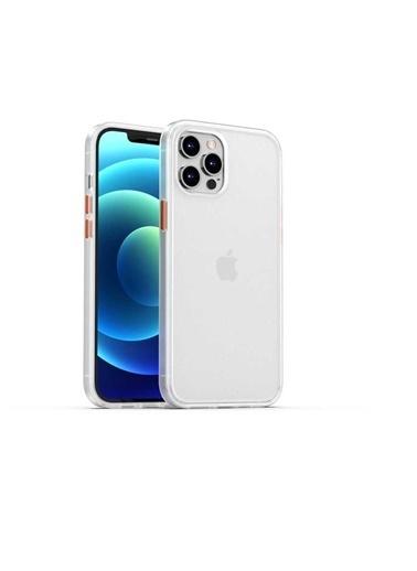 Benks Apple iPhone 12 Pro Kılıf Magic Smooth Drop Resistance Case Beyaz